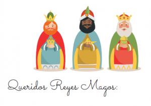 Siéntate y escribe la carta a los Reyes Magos con tus hijos