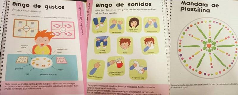 Actividades para la estimulación de los sentidos