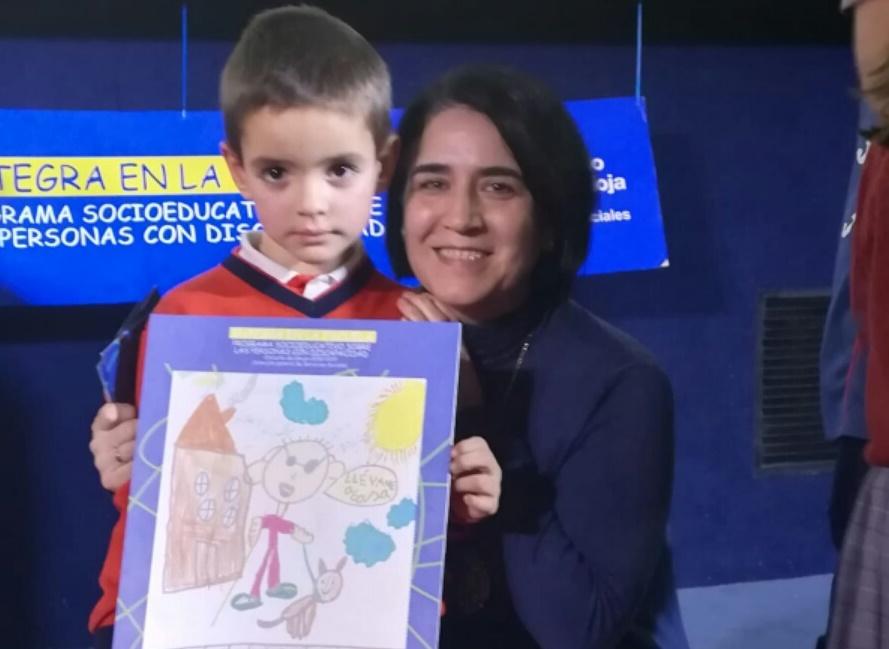 Jorge López recoge el premio «Integra en la Escuela»