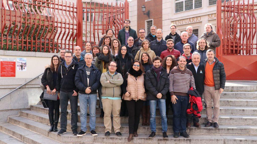 Asistimos en Madrid al curso de comunicación