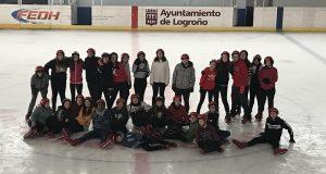 ¡Patinamos sobre hielo!