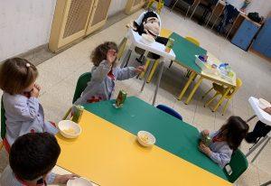 En la guardería… ¡Don Bosco es genial!