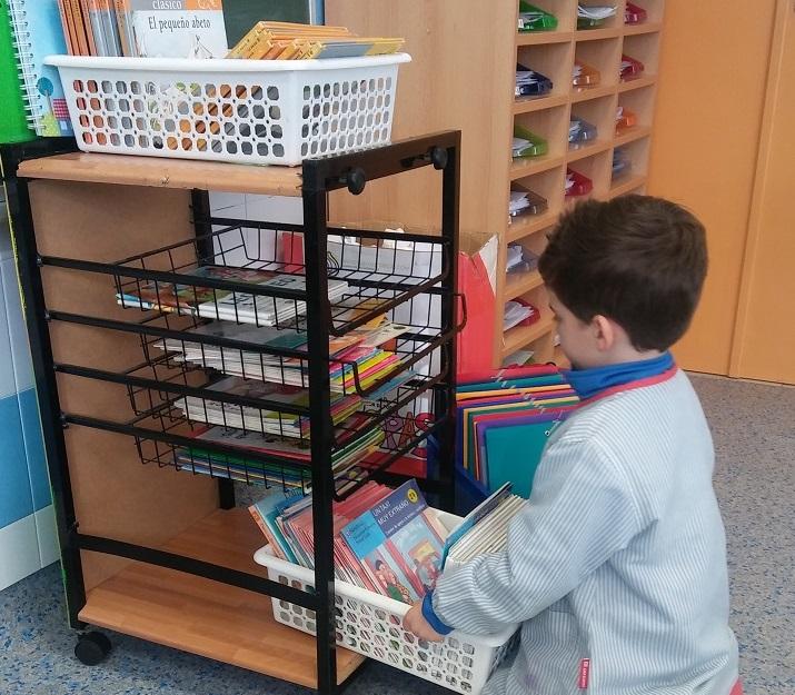 ¡Biblioteca de préstamo en 3º Infantil!