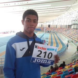 Club deportivo: Javier San Juan en el Campeonato de España de atletismo