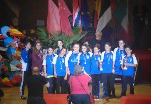 Lucía, de 1º ESO, premiada en un Torneo Internacional de Baloncesto