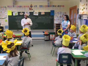Entrega de diplomas de Chef a los alumnos de 3º de Infantil