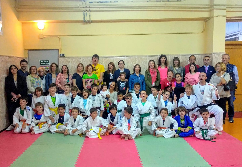Exhibición de judo