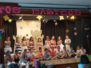 «ESTOS AÑOS MÁGICOS», festival fin de curso en Infantil
