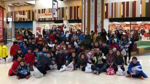 Salida solidaria al centro comercial: Operación Kilo