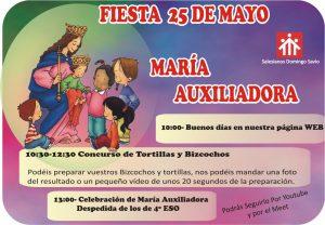 Fiesta de María Auxiliadora. Programa