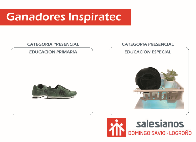 Salesianos: Doble Premio Inspiratec 2020