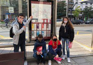 Nuestros alumnos analizan la contaminación y el ruido de Gran Vía