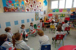 Viernes de cuento en Infantil