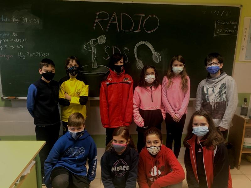 Radio Salesianos. 6º de Primaria. Primer programa
